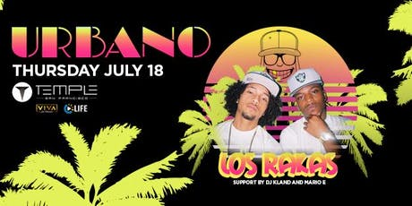URBANO feat Los Rakas tickets
