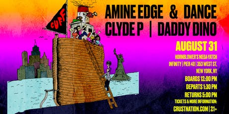CUFF Boat Party: Amine Edge & Dance, Clyde P, Daddy Dino in New York City tickets