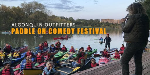 Alqonquin Outfitters Paddle On Comedy Festival