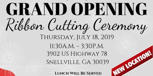 Ribbon Cutting Ceremony & Grand Opening Snellville Office