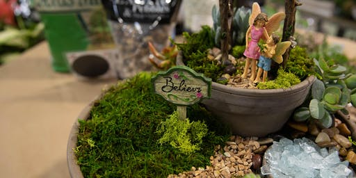 DIY Fairy Garden Workshop | Elk Grove
