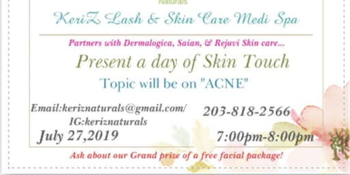 Informational Seminar for young and Mature acne prone skin@Keriz beautySpa.