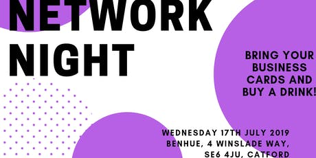 SLBBN Network Night tickets