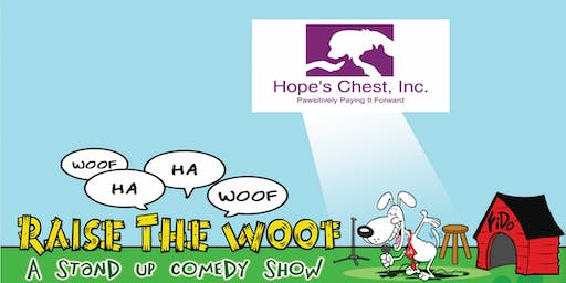 Raise the Woof Comedy Show Fundraiser - Shelby, NC