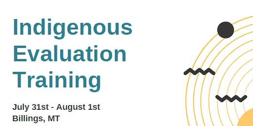 Indigenous Evaluation