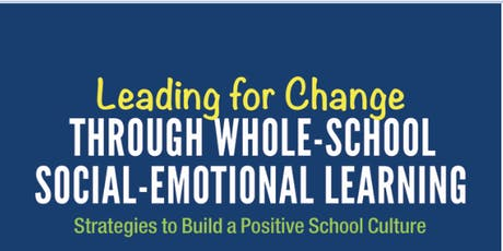 Social Emotional Learning: Professional Development for Educators tickets