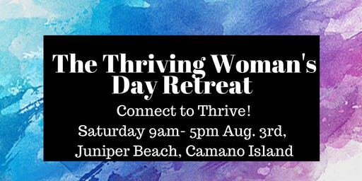 The Thriving Woman's Day Retreat on Camano Island
