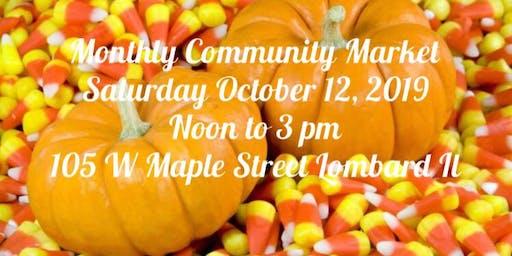 October Community Market