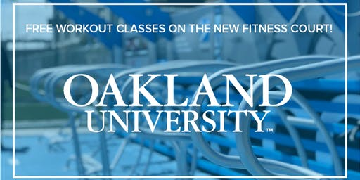 Free Workout Classes on the Oakland University Fitness Court!