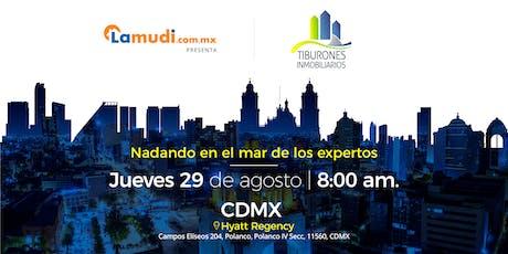 Foro Tiburones Inmobiliarios CDMX | Presentado por Lamudi boletos
