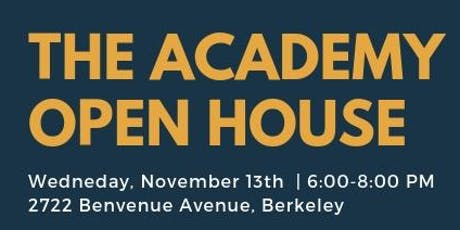 The Academy School Open House tickets