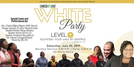 LinkedUp Live: White Party tickets