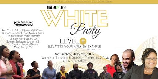LinkedUp Live: White Party