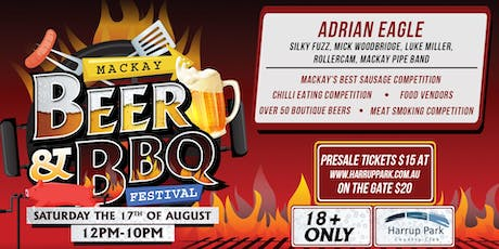 Mackay Beer and BBQ Festival  tickets