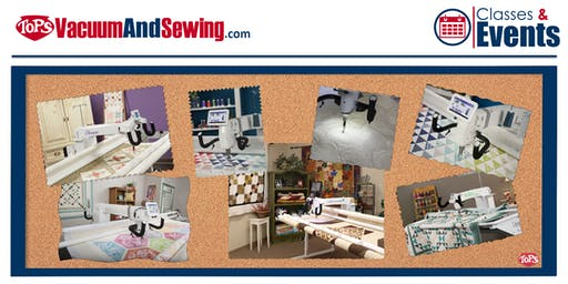 Longarm Quilting Class | E2E w/Handi Quilter ProStitcher | Sarasota