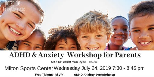 ADHD & Anxiety Workshop For Parents