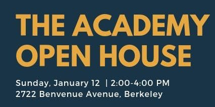 The Academy School Winter Open House
