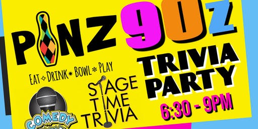 Stage Time 90's Trivia Night