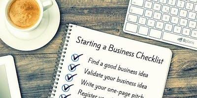 Business Startup Workshop - Sunday 21 July- Special