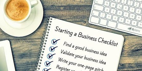 Business Startup Workshop - Sunday 21 July- Special tickets