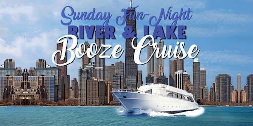 Sunday Fun-Night Booze Cruise on the Chicago River & Lake Michigan