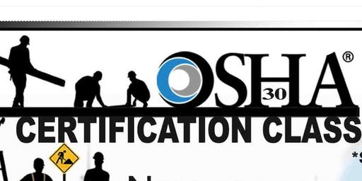 OSHA 30 Certification Class