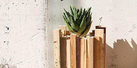 Upcycled Wooden Planter Workshop tickets