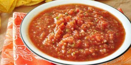 Culinary Arts: DIY Salsa tickets