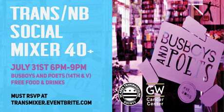 Trans/NB Social Mixer 40+ tickets