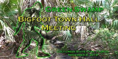 Bigfoot Town Hall Meeting Green Swamp, Florida