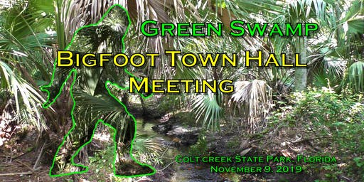 Bigfoot Town Hall Meeting Green Swamp, Florida