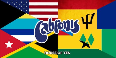 Cabronis: Latin, Caribbean & Afrobeat Night tickets