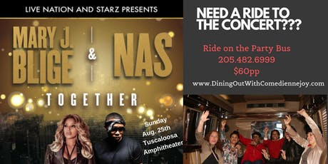 Mary J. Blige & Nas Concert tickets