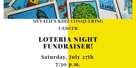 """""""Cards for A Cause"""" Loteria Night tickets"""