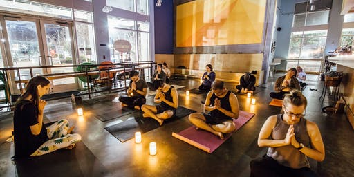 Candlelight Yoga at Philz Coffee