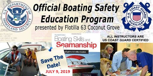 BOATING SKILLS & SEAMANSHIP