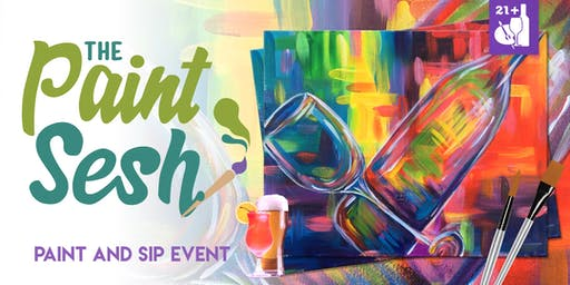 "Paint Night in Norco, CA - ""Wine Time"""
