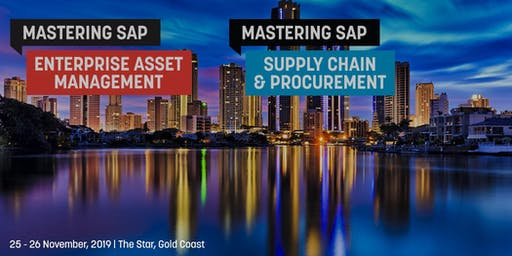 Mastering SAP Enterprise Asset Management + Supply Chain & Procurement 2019 - PARTNER REGISTRATION
