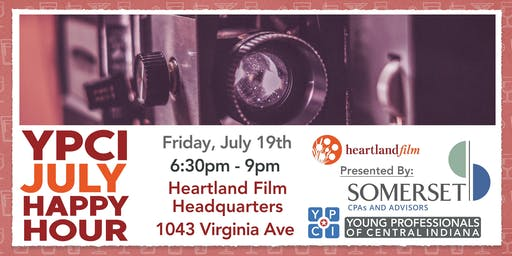 YPCI: July Happy Hour, Micro-brews & Micro-films pres. by Somerset