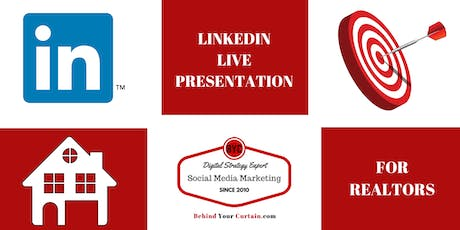 Learn & Leverage LinkedIn For Real Estate Professionals tickets
