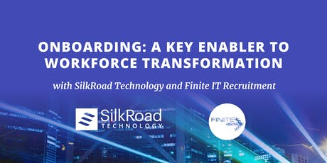 Onboarding – A key enabler to workforce transformation  tickets
