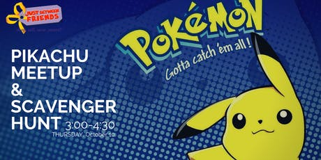 Gotta Catch 'Em All • Pikachu Meet & Greet Scavenger Hunt • Issaquah Fall19 tickets