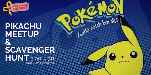 Gotta Catch 'Em All • Pikachu Meet & Greet Scavenger Hunt • Issaquah Fall19