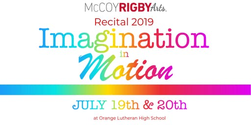 RECITAL 2019 - FRIDAY 6:30 PM