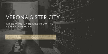 Verona Sister City - Veneto Wine Experience tickets