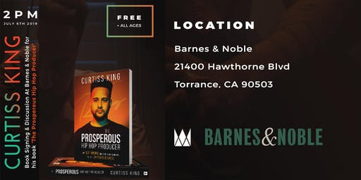Curtiss King Book Signing & Discussion At Barnes & Noble