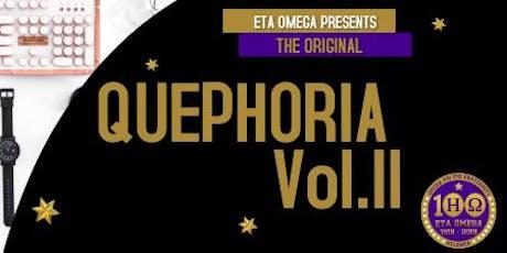 Quephoria II: Centennial Edition tickets