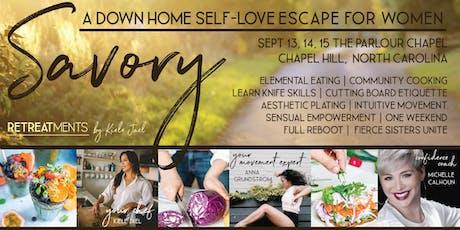 Savory Retreatment: A Down-Home, Self-Love Escape For Women tickets