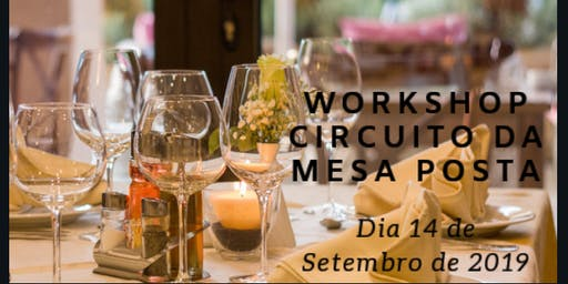 Workshop Circuito Da Mesa Posta