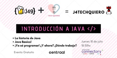 Meetup Introducción a Java - J4TechQuiero
